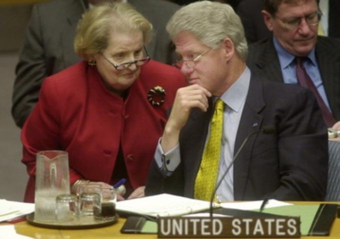 Bil-Clinton+Madeleine+Albright